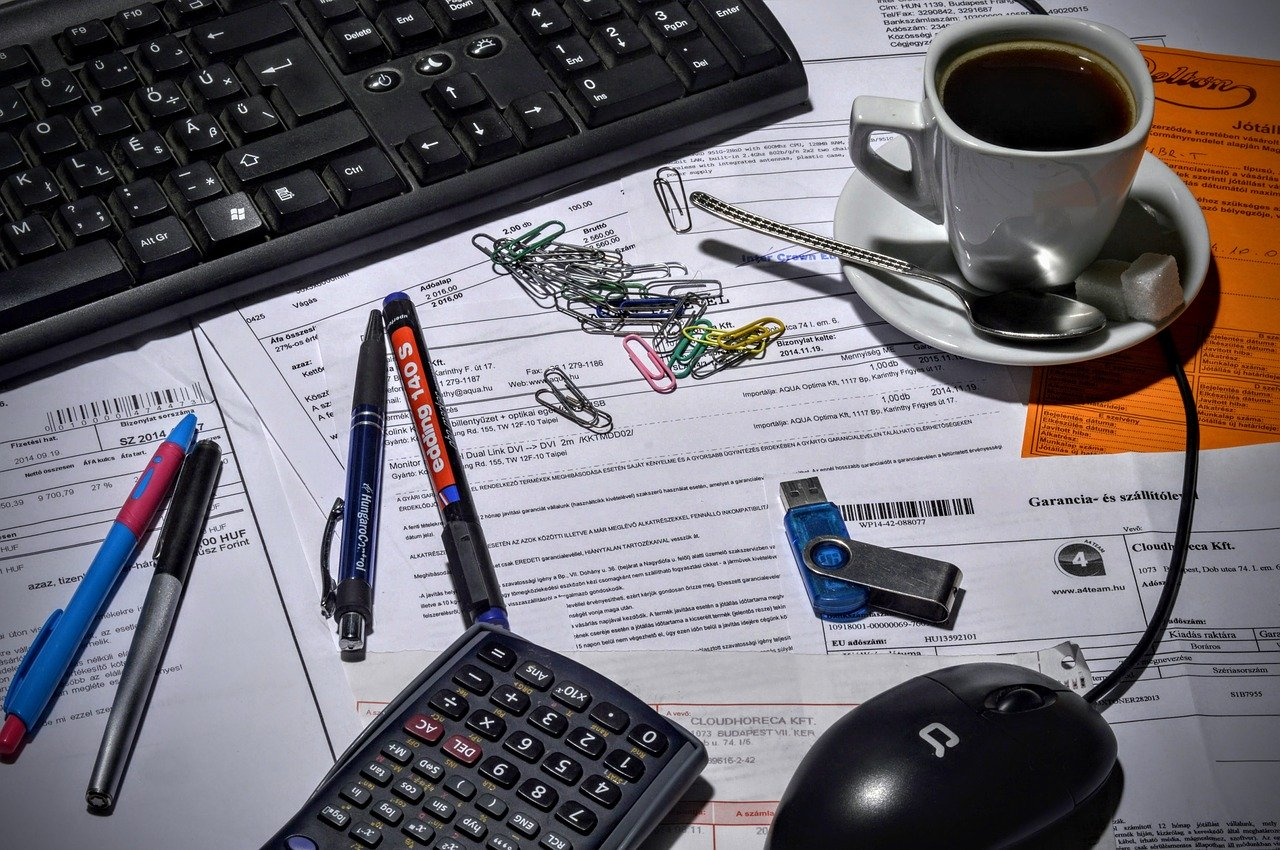 Book Keeping - Bluebell Admin Services